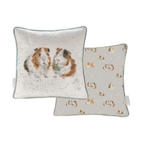 Wrendale Lettuce Be Friends Guinea Pig Cushion